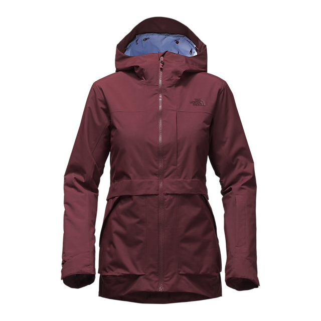 CHEAP NORTH FACE WOMEN'S NEVERMIND JACKET DEEP GARNET RED ONLINE