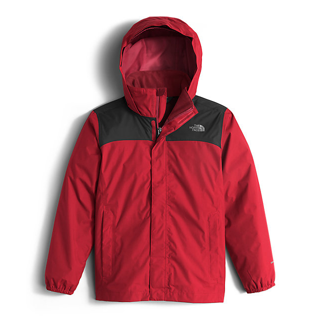 CHEAP NORTH FACE BOYS' RESOLVE REFLECTIVE JACKET RED ONLINE