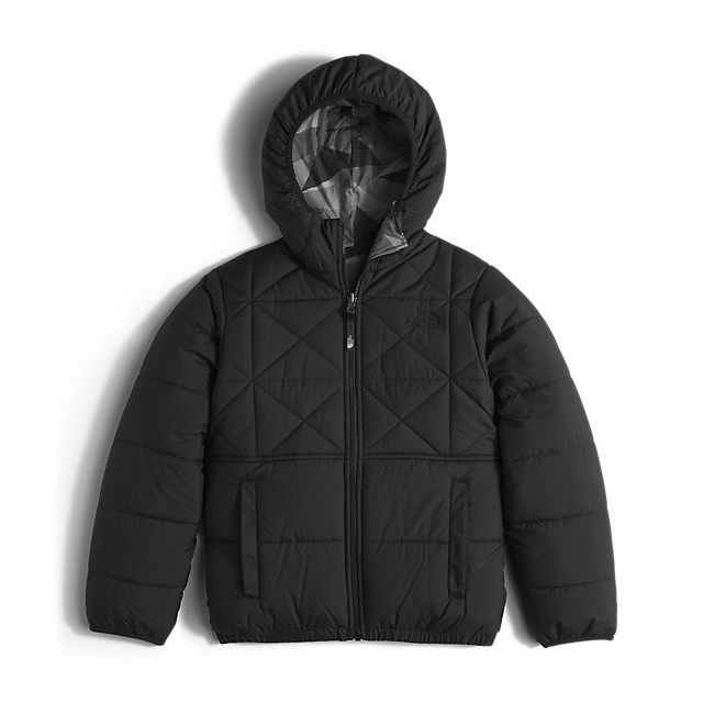 CHEAP NORTH FACE BOYS' REVERSIBLE PERRITO JACKET BLACK ONLINE