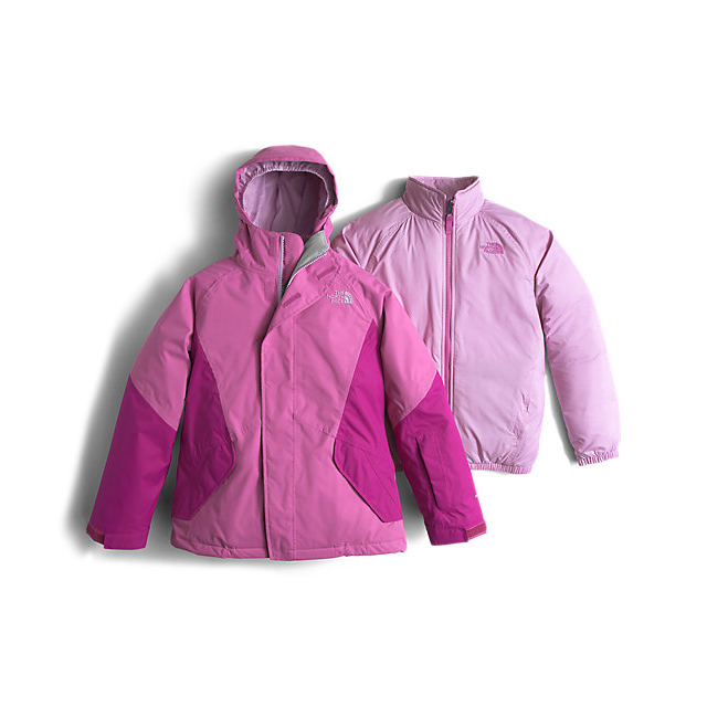 CHEAP NORTH FACE GIRLS' KIRA TRICLIMATE JACKET WISTERIA PURPLE ONLINE