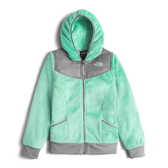CHEAP NORTH FACE GIRLS' OSO HOODIEGIRLS' OSO HOODIE ICE GREEN ONLINE