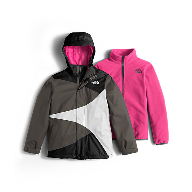 CHEAP NORTH FACE GIRLS' MOUNTAIN VIEW TRICLIMATE JACKET BLACK ONLINE