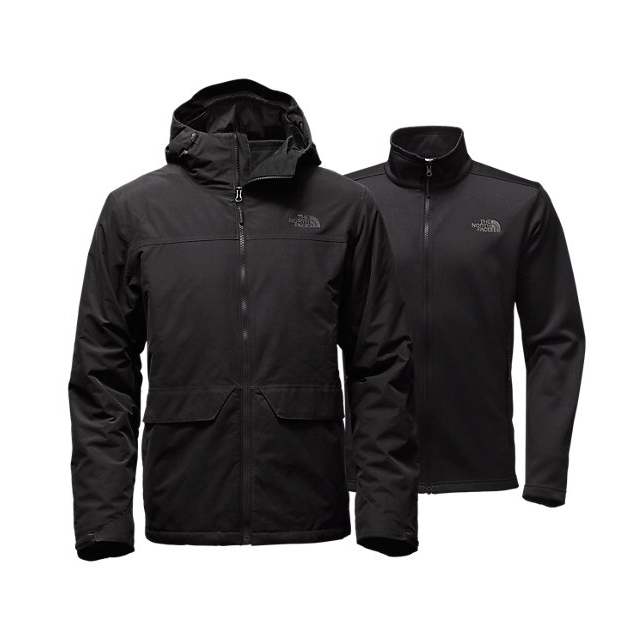 CHEAP NORTH FACE MEN'S CANYONLANDS TRICLIMATE  JACKET BLACK ONLINE