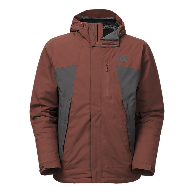 CHEAP NORTH FACE MEN'S PLASMA THERMOBALL JACKET SEQUOIA RED/ASPHALT GREY ONLINE