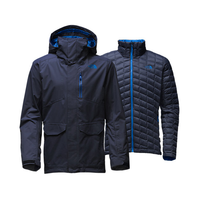 CHEAP NORTH FACE MEN'S THERMOBALL SNOW TRICLIMATE PARKA URBAN NAVY ONLINE