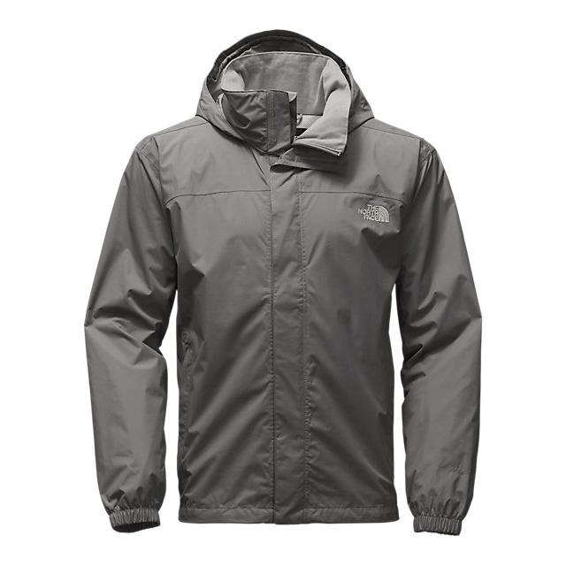 CHEAP NORTH FACE MEN'S RESOLVE JACKET FUSEBOX GREY ONLINE