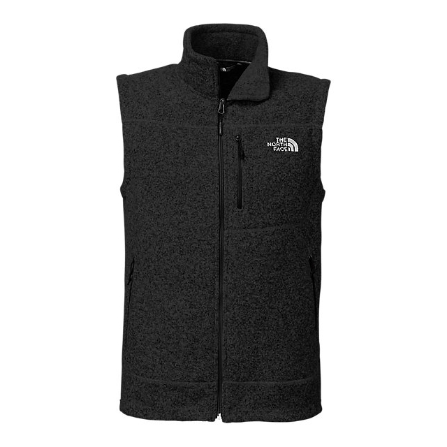 CHEAP NORTH FACE MEN'S GORDON LYONS VEST BLACK HEATHER ONLINE