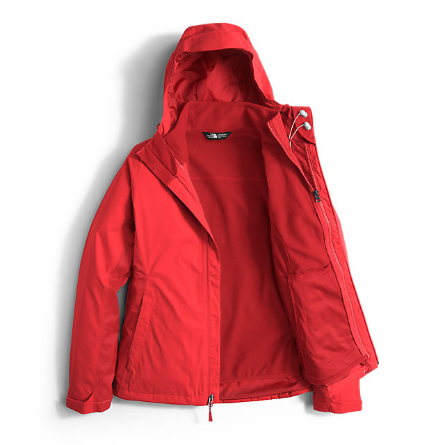CHEAP NORTH FACE WOMEN\'S ARROWOOD TRICLIMATE  JACKET HIGH RISK RED ONLINE