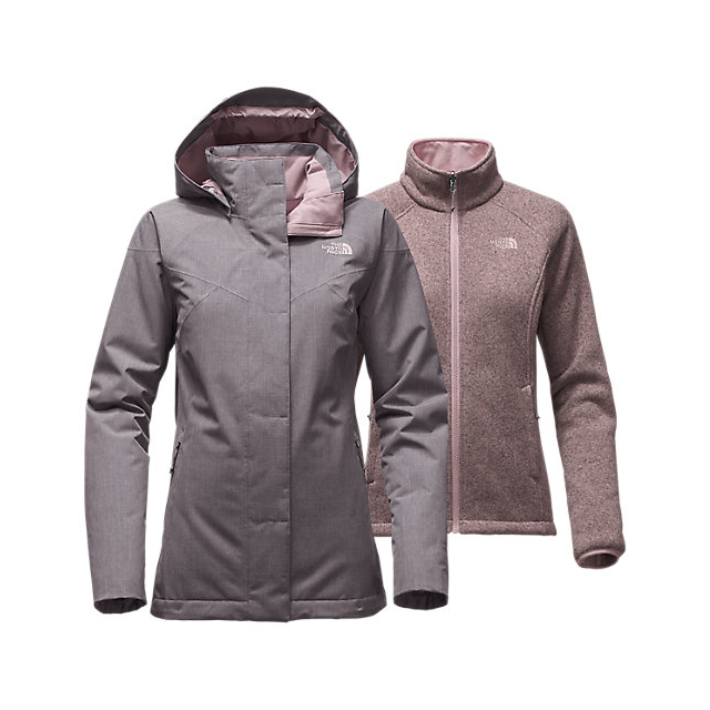 CHEAP NORTH FACE WOMEN'S KALISPELL TRICLIMATE  JACKET RABBIT GREY HEATHER ONLINE