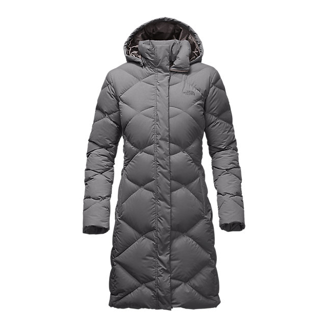 CHEAP NORTH FACE WOMEN'S MISS METRO PARKA MEDIUM GREY HEATHER ONLINE