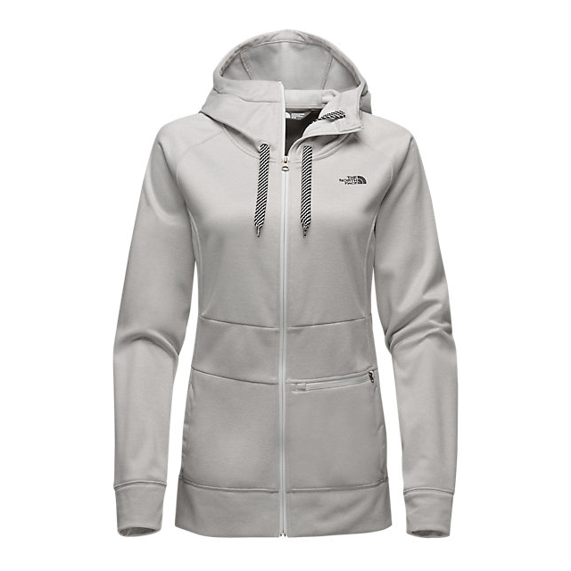 CHEAP NORTH FACE WOMEN'S SHELLY HOODIE LUNAR ICE GREY HEATHER ONLINE