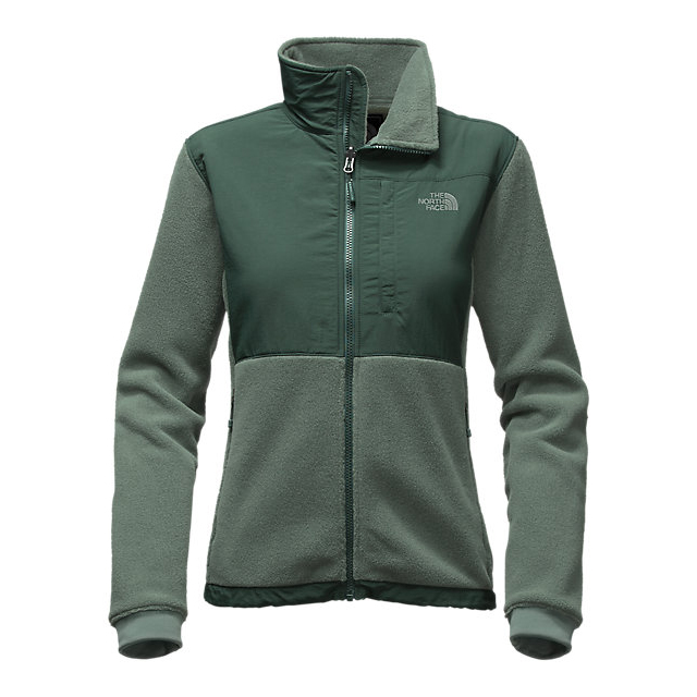 CHEAP NORTH FACE WOMEN'S DENALI 2 JACKET BALSAM GREEN HEATHER/DARKEST SPRUCE GREEN ONLINE