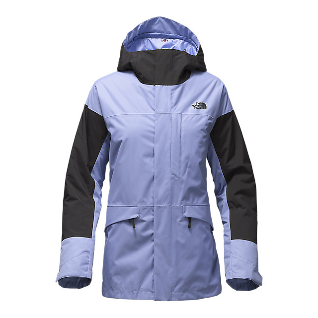 CHEAP NORTH FACE WOMEN'S CROSSTOWN JACKET GRAPEMIST BLUE-BLACK ONLINE