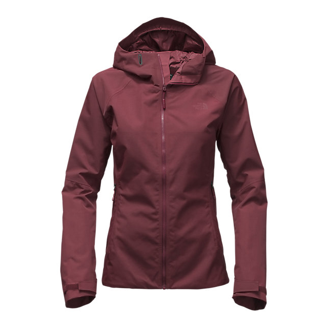 CHEAP NORTH FACE WOMEN'S FUSEFORM MONTRO JACKET DEEP GARNET RED FUSE ONLINE