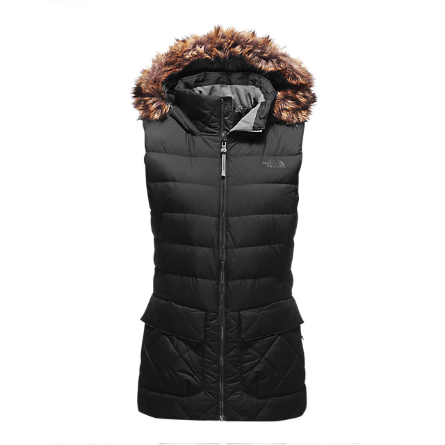 CHEAP NORTH FACE WOMEN'S NITCHIE INSULATED VEST BLACK ONLINE